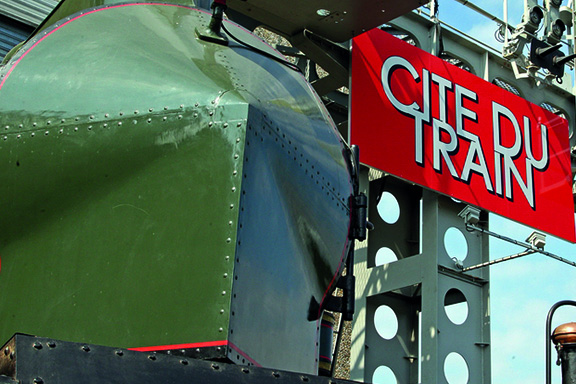 Cité du Train Come and discover the largest railway museum in Europe  <small>90min / 120km</small>